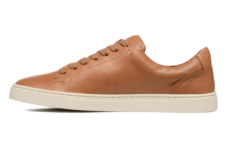 Sneakers Frye Ivy Low Lace Bruin voorkant