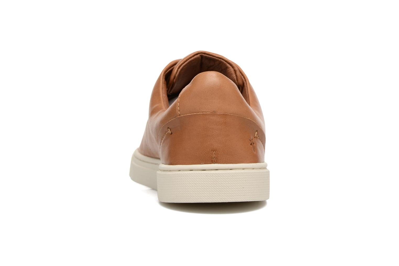 Sneakers Frye Ivy Low Lace Bruin rechts
