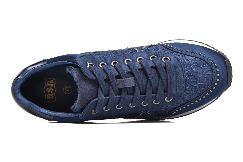 Baskets Ash Blush Bleu vue gauche