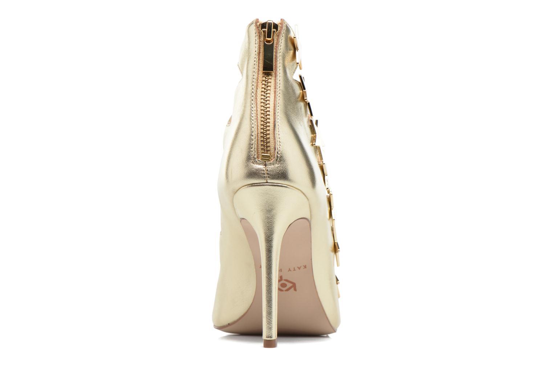 Sandales et nu-pieds Katy Perry The Stella Or et bronze vue droite