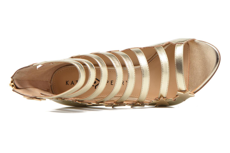 Sandales et nu-pieds Katy Perry The Stella Or et bronze vue gauche