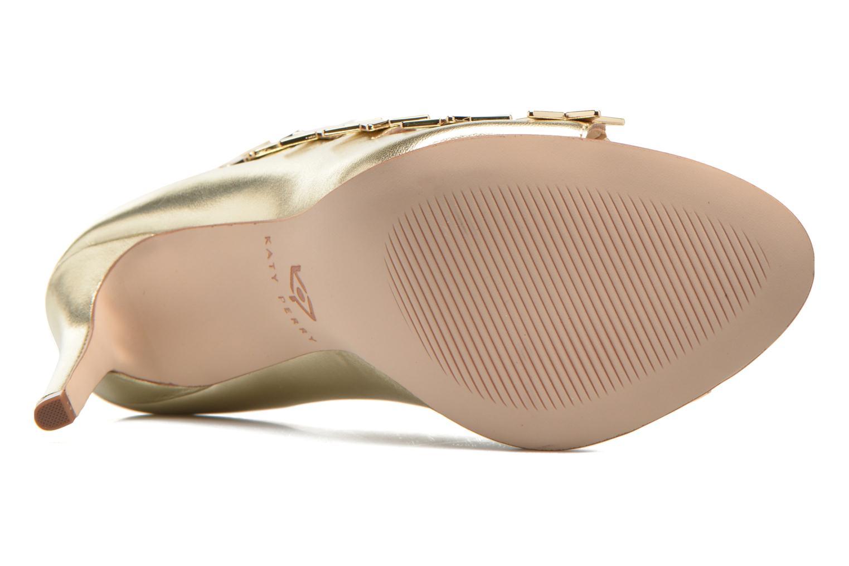 Sandales et nu-pieds Katy Perry The Stella Or et bronze vue haut