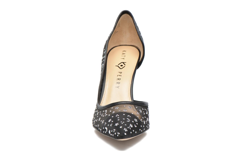 Escarpins Katy Perry The Anne Noir vue portées chaussures