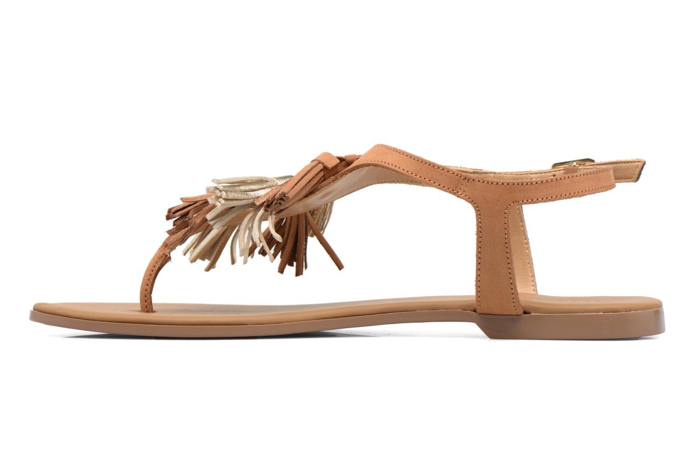 Sandales et nu-pieds Georgia Rose Molon Marron vue face