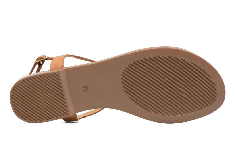 Sandales et nu-pieds Georgia Rose Molon Marron vue haut