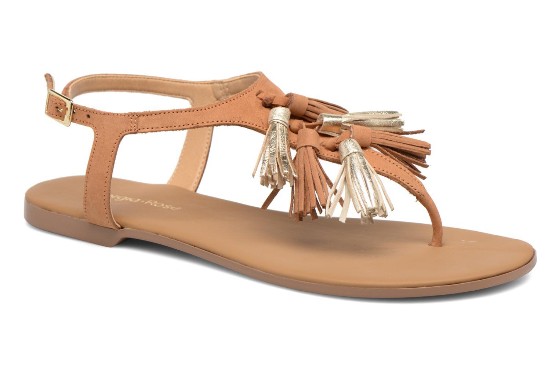 Sandales et nu-pieds Georgia Rose Molon Marron vue détail/paire