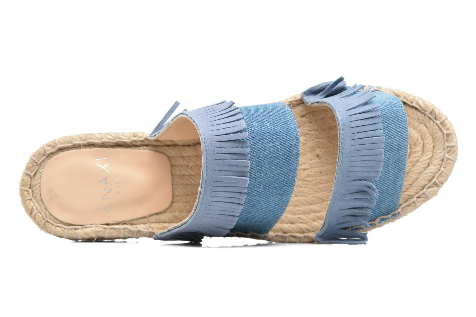 Mules & clogs Anaki Buenosa Blue view from the left