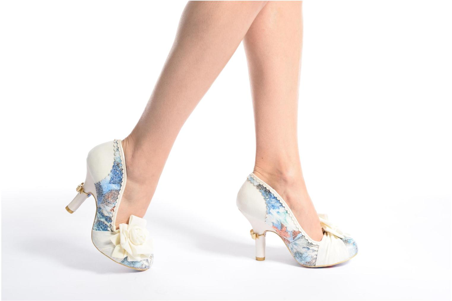 High heels Irregular choice Washington Multicolor view from underneath / model view