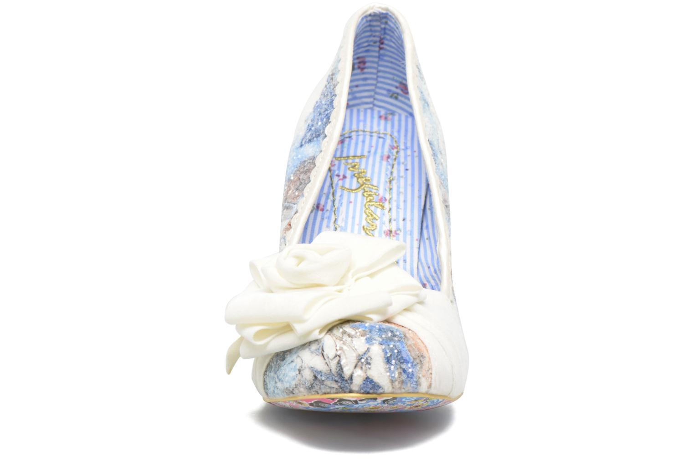 Escarpins Irregular Choice Washington Multicolore vue portées chaussures