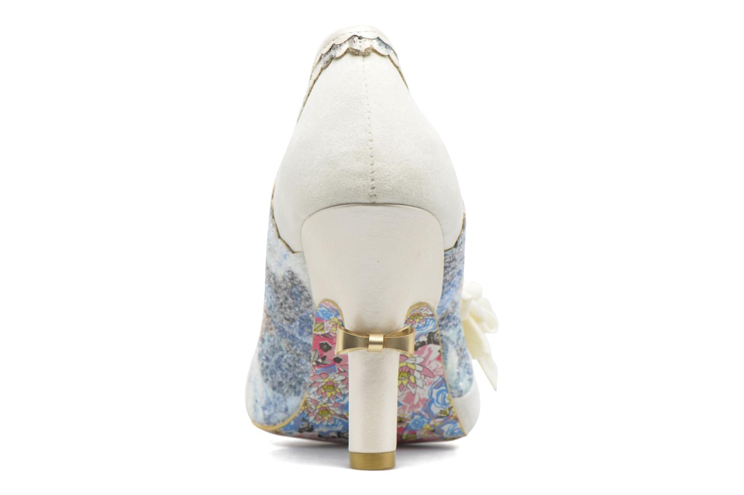 High heels Irregular choice Washington Multicolor view from the right