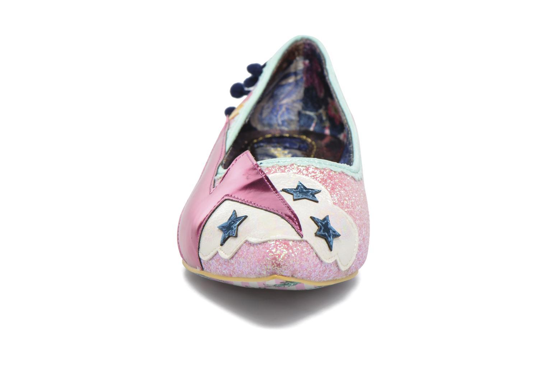 Ballerines Irregular Choice Ground Control Multicolore vue portées chaussures
