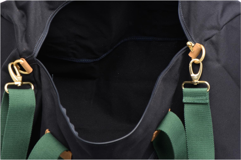 Sacs de sport Faguo Big Duffle Set et Match Cotton Bleu vue derrière