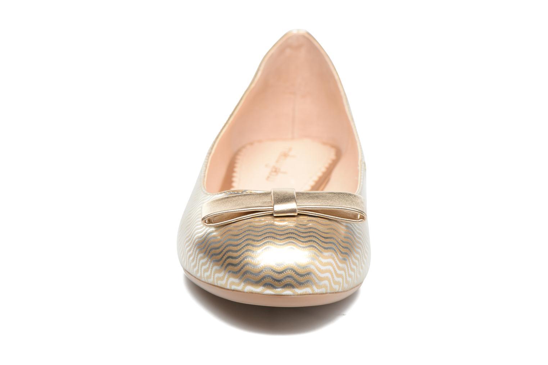 Ballet pumps Mellow Yellow Balowen Bronze and Gold model view