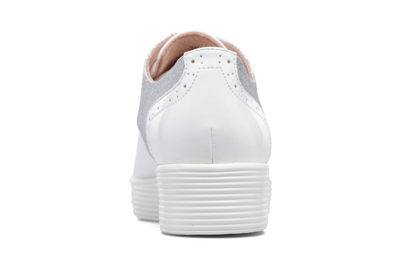 Zapatos con cordones Mellow Yellow Bigli Blanco vista lateral derecha