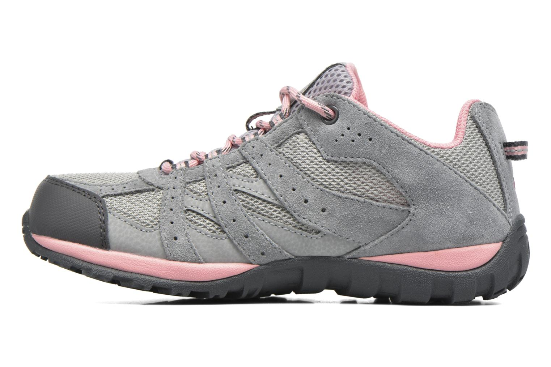 Chaussures de sport Columbia Youth Redmond Gris vue face