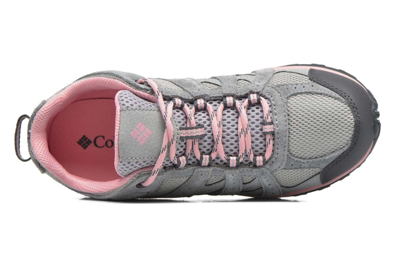 Chaussures de sport Columbia Youth Redmond Gris vue gauche