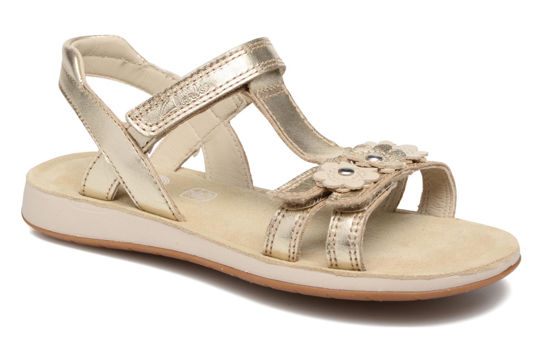 Sandales et nu-pieds Clarks Sea Sally Or et bronze vue détail/paire