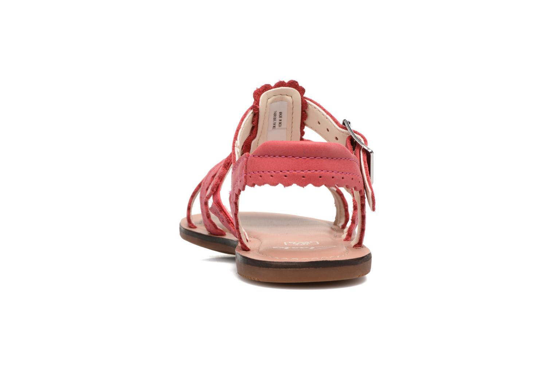 Sandales et nu-pieds Clarks Loni Moon Inf Rose vue droite