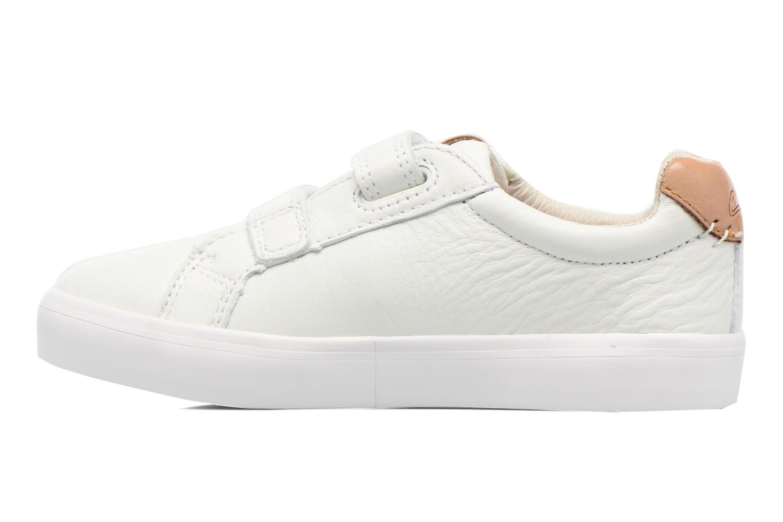 Sneakers Clarks Brill Rap Bianco immagine frontale