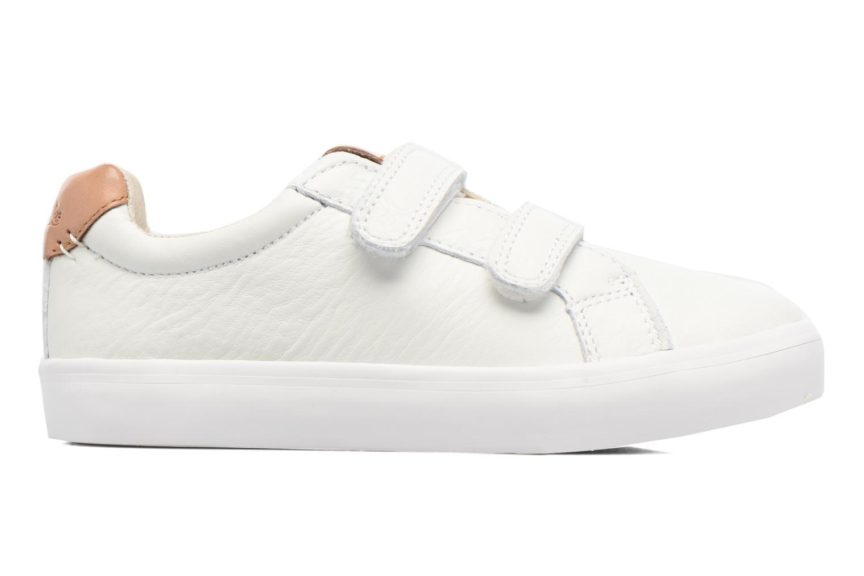 Sneakers Clarks Brill Rap Bianco immagine posteriore