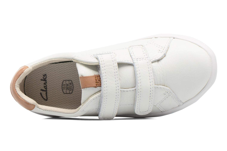 Sneakers Clarks Brill Rap Bianco immagine sinistra