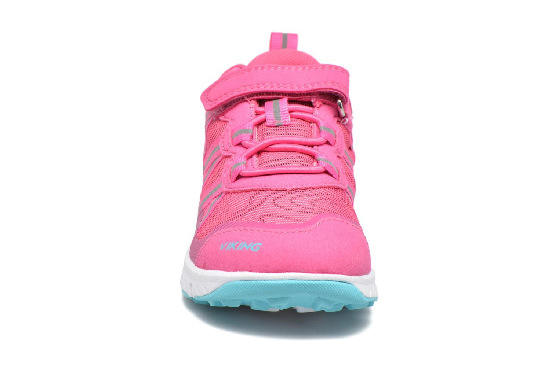 Chaussures de sport Viking Holmen Rose vue portées chaussures