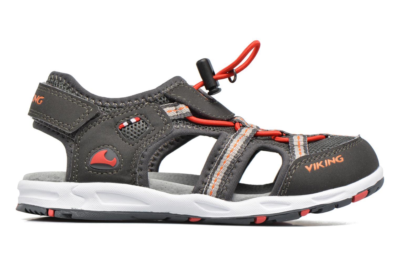 Sandales et nu-pieds Viking Thrill Gris vue derrière