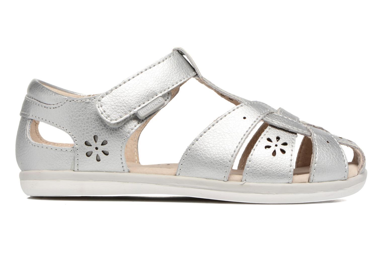 Sandales et nu-pieds Pediped Nikki2 Argent vue derrière