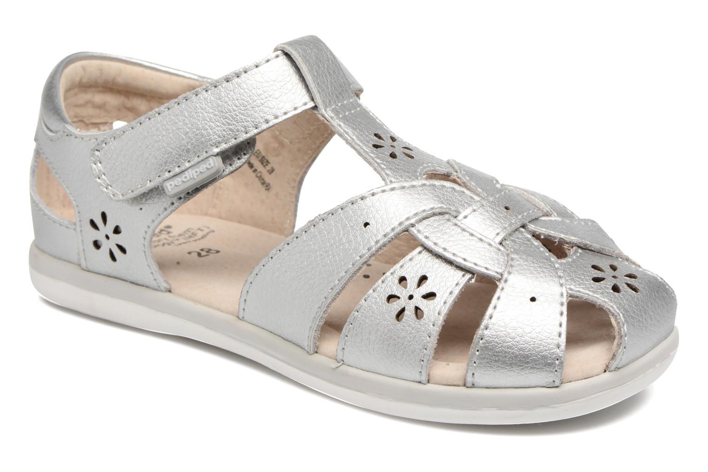 Sandales et nu-pieds Pediped Nikki2 Argent vue détail/paire