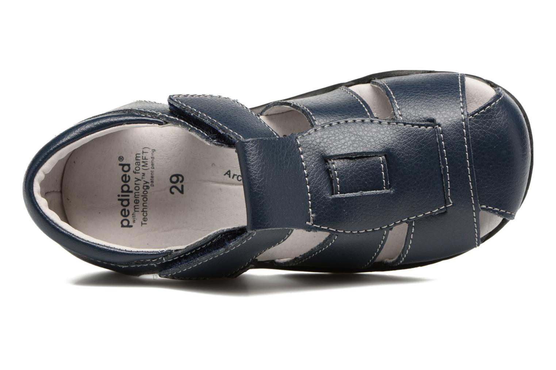 Sandales et nu-pieds Pediped Sydney2 Bleu vue gauche