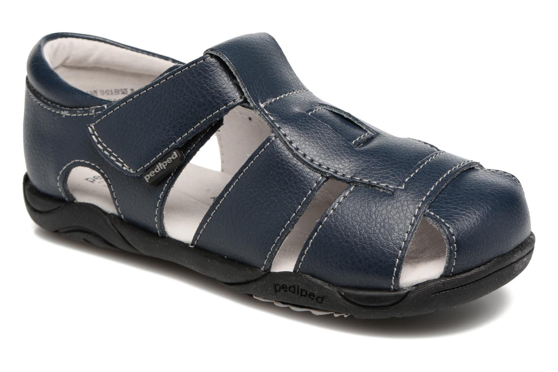 Sandales et nu-pieds Pediped Sydney2 Bleu vue détail/paire