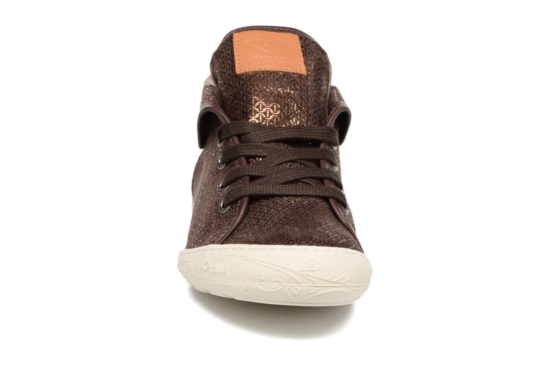 Baskets P-L-D-M By Palladium Gaetane Mbr Marron vue portées chaussures