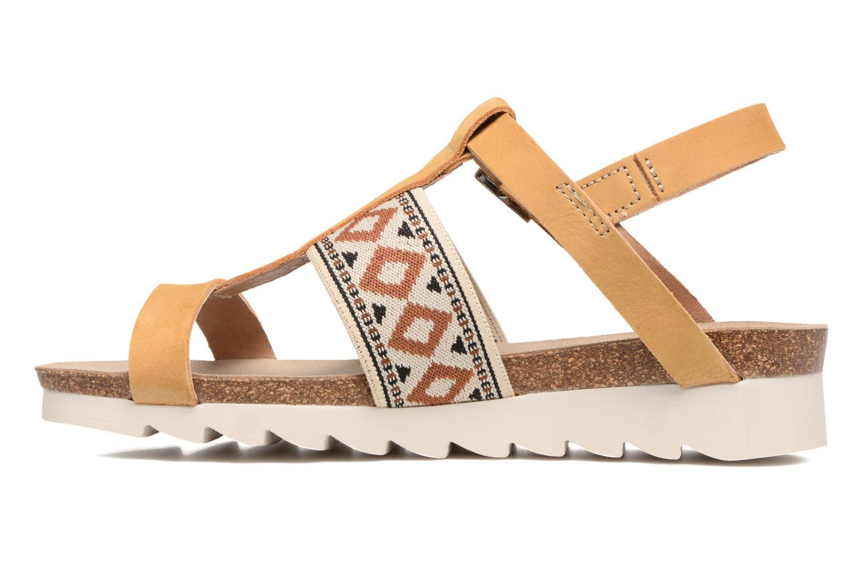 Sandales et nu-pieds P-L-D-M By Palladium Rieti Jaune vue face