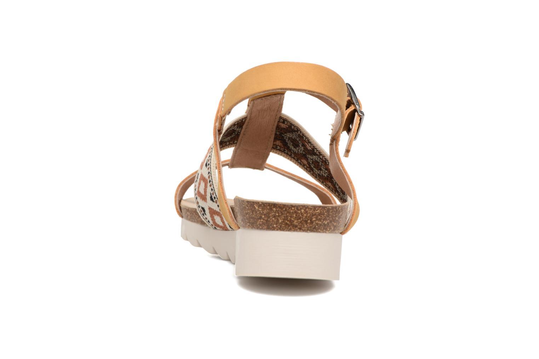 Sandales et nu-pieds P-L-D-M By Palladium Rieti Jaune vue droite