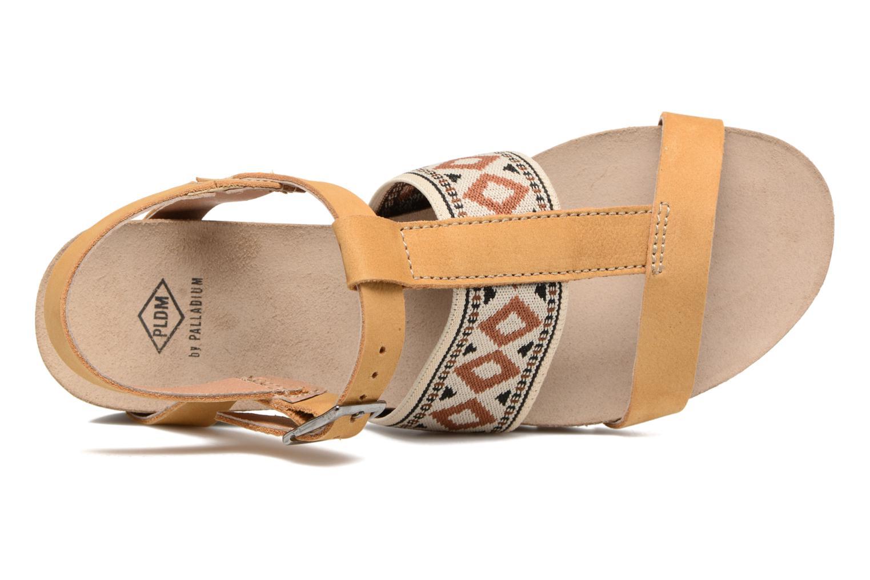 Sandales et nu-pieds P-L-D-M By Palladium Rieti Jaune vue gauche
