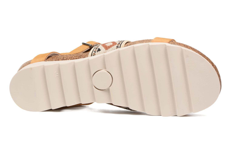 Sandales et nu-pieds P-L-D-M By Palladium Rieti Jaune vue haut