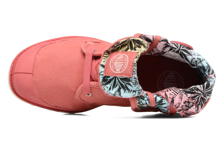 Bottines et boots Palladium Baggy Lo Lp K Rose vue gauche