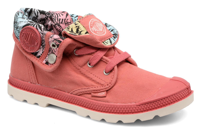 Bottines et boots Palladium Baggy Lo Lp K Rose vue détail/paire