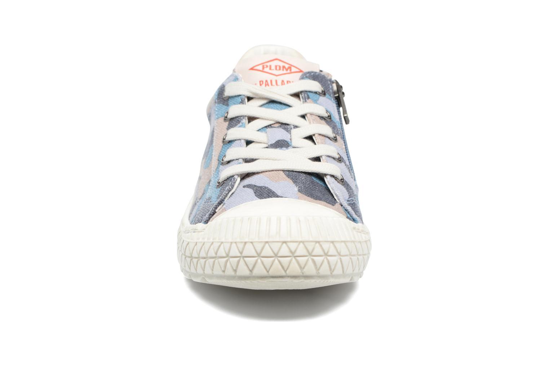 Sneakers P-L-D-M By Palladium Tudy Print Azzurro modello indossato