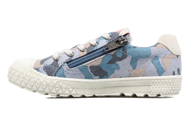 Sneakers P-L-D-M By Palladium Tudy Print Azzurro immagine frontale