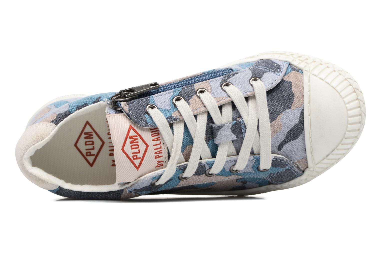 Sneakers P-L-D-M By Palladium Tudy Print Azzurro immagine sinistra