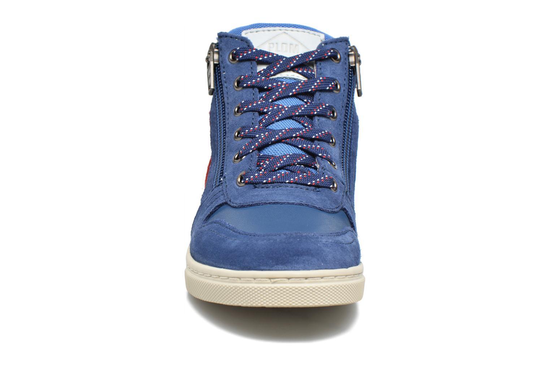 Baskets P-L-D-M By Palladium Valou Sud/Nyl Bleu vue portées chaussures