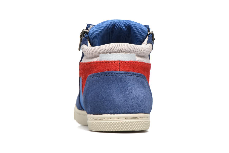 Baskets P-L-D-M By Palladium Valou Sud/Nyl Bleu vue droite