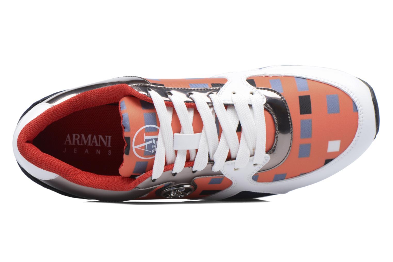 Baskets Armani Jeans Acilia Multicolore vue gauche