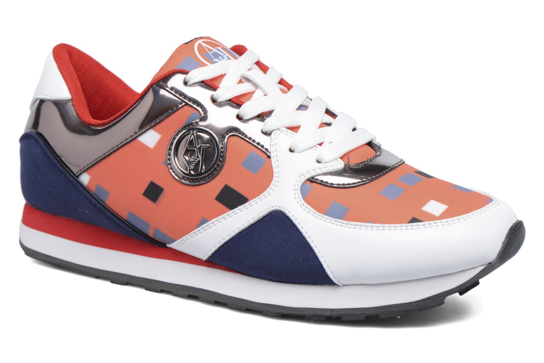 Baskets Armani Jeans Acilia Multicolore vue détail/paire