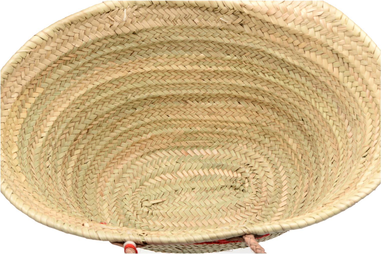 Handtassen Etincelles Panier artisanal Poisson Rouge Rood achterkant