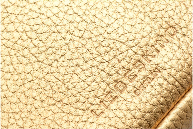 Sacs à main Liebeskind Berlin Fez Or et bronze vue gauche