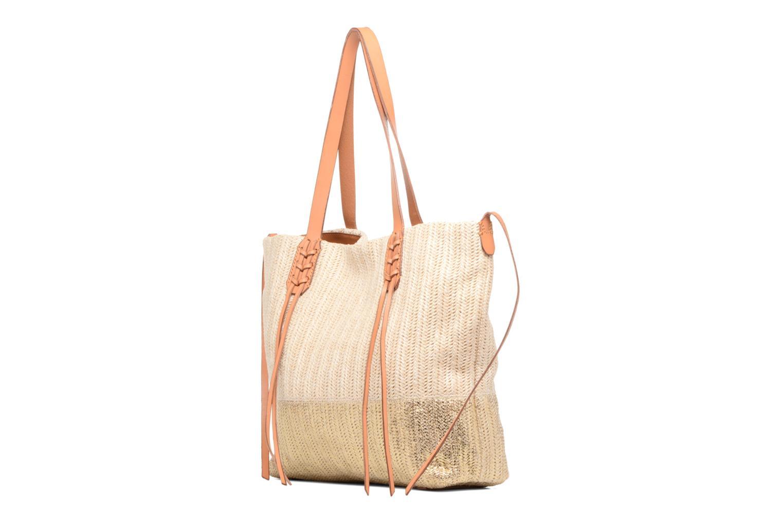 Handtaschen Liebeskind Berlin Bria beige ansicht von rechts