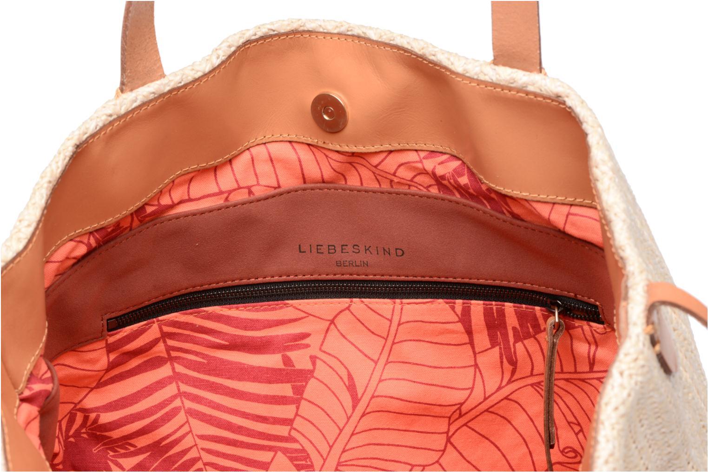 Handtaschen Liebeskind Berlin Bria beige ansicht von hinten