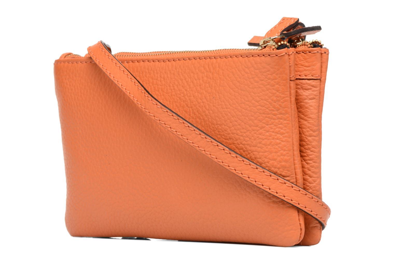 Sacs à main Loxwood Double zip Orange vue droite